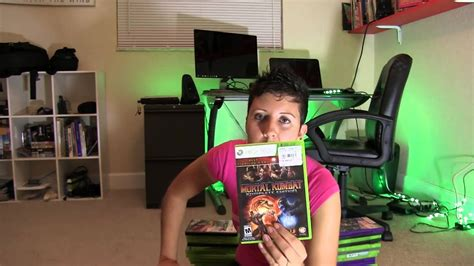 My Xbox 360 Collection 2014 Girl Gamer Collection Part 1
