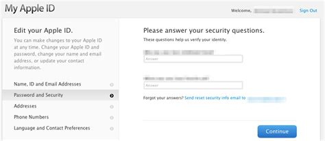 how to reset security questions on iphone iphone how can you reset security questions on an apple