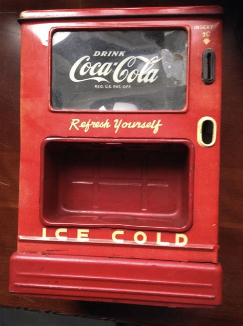 Best match ending newest most bids. 1950s coca cola dispenser bank | Collectors Weekly