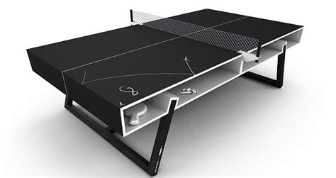 A Ping-pong Table That's The Chalk Of The Town