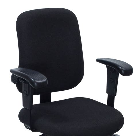 office master pt74 used task chair black national