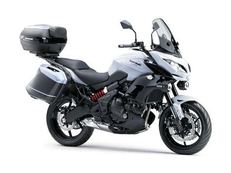 Kawasaki Versys 650 Image by Intermot 2014 Kawasaki Versys 650 Abs
