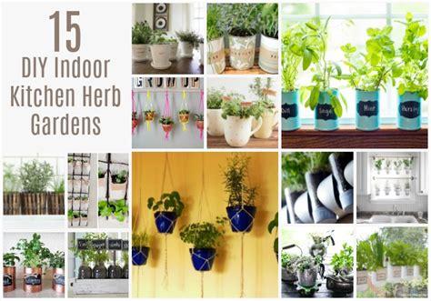 diy indoor kitchen herb gardens crock pot ladies