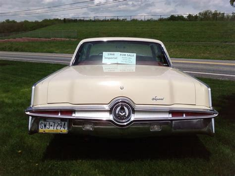 Chrysler Crown Imperial by 1966 Chrysler Crown Imperial Information And Photos