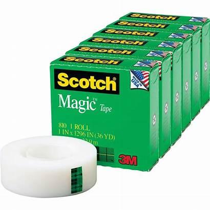 Tape Scotch Magic Pack Clear Walmart Length