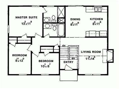 split level ranch house plans eplans split level house plan three bedroom split level