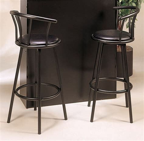 Black Bar Stools With Arms by Black Bar Stools With Arms With Shape And Ornamental