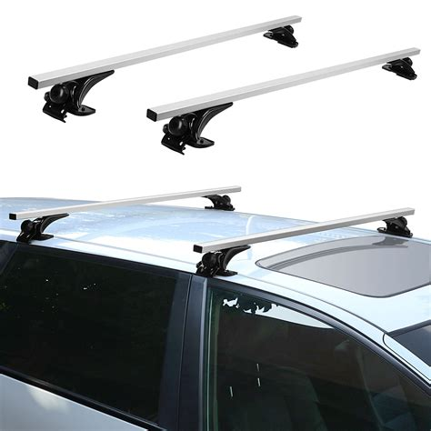 car roof racks voilamart top luggage cross bars 1370mm 54 quot car roof rack