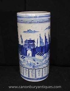 Chinesisches Porzellan Kaufen : chinesisches blau wei kangxi porzellan schirmst nder urne ~ Michelbontemps.com Haus und Dekorationen