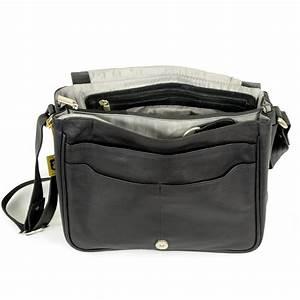 Esszimmerstühle Leder Schwarz : hamosons handtasche jagdtasche modell 577 schwarz nappa ~ Whattoseeinmadrid.com Haus und Dekorationen