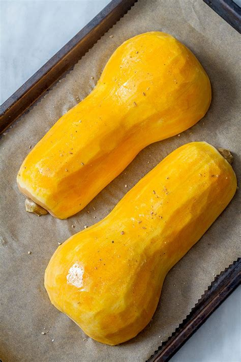 roasted butternut squash  garlic butter eatwell