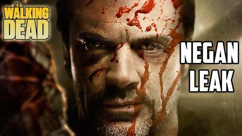negan footage has been leaked the walking dead season 6 news link in description