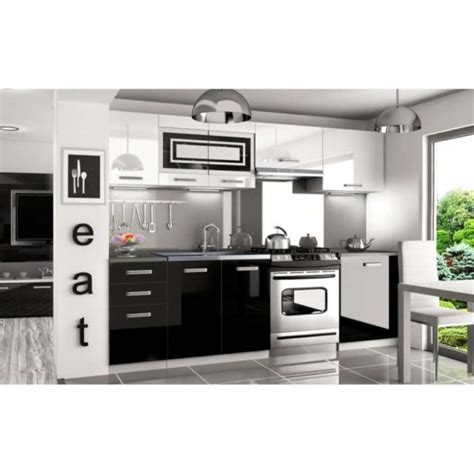 cuisine equipee complete justhome infinity pro led cuisine équipée complète 240 cm