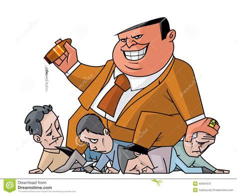 Abuse Of Power Stock Illustration. Illustration Of Evil