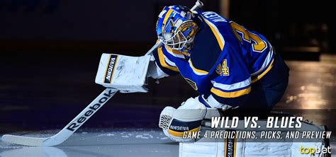 wild  blues series game  predictions picks  preview