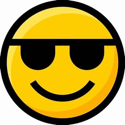Sunglasses Emoji Icon Interface Faces Smileys Icons