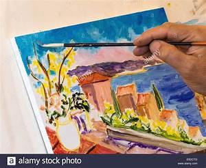 Malen Mit Wasserfarben : malen stockfotos malen bilder alamy ~ Orissabook.com Haus und Dekorationen