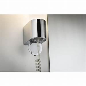 Applique Salle De Bain Avec Interrupteur : applique salle de bain avec prise castorama ~ Edinachiropracticcenter.com Idées de Décoration