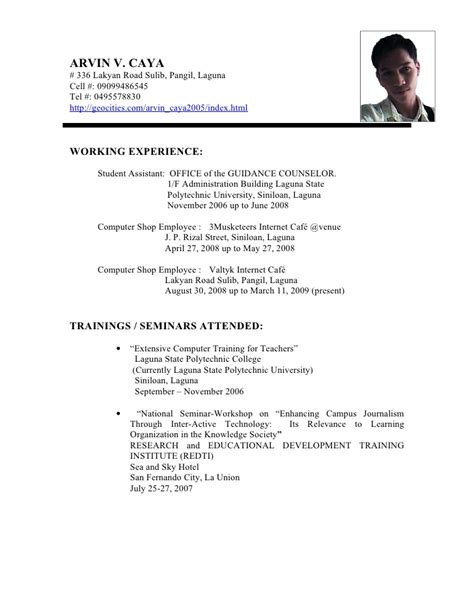 resume format for primary resume primary