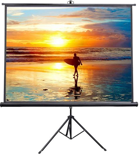 Best Portable Projector Screens In 2020: Buying Guide and
