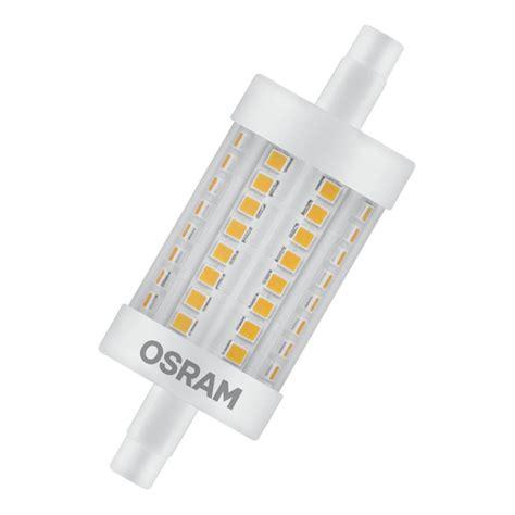 osram r7s led osram 8w led r7s 78mm dim 2700k 4058075811874 lshoponline