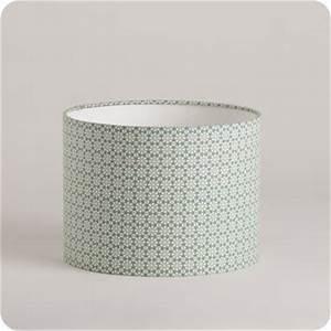 Abat Jour Vert : abat jour design pour lampe lampadaire ou suspension en tissu motif graphique vert daisy ~ Teatrodelosmanantiales.com Idées de Décoration