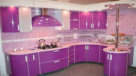 Cabinet Ideas For Kitchen - latest purple pink kitchen design ideas modern kitchen color schemes youtube