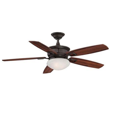 5 blade hton bay ceiling fan hton bay al968 orb lazerro ii 52 in oil rubbed bronze