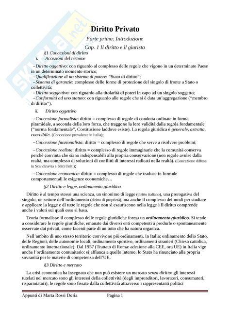 dispensa di diritto privato riassunto esame diritto privato prof di porto libro