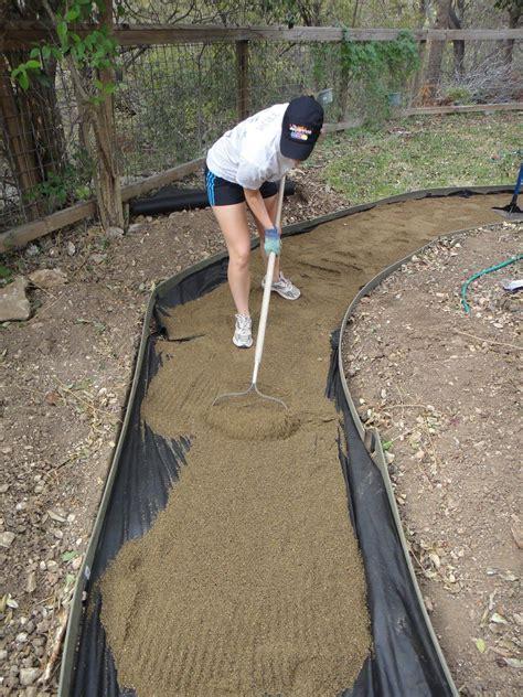 compacting decomposed granite sand vs decomposed granite for pavers and walkways rock n dirt yard my garden pinterest