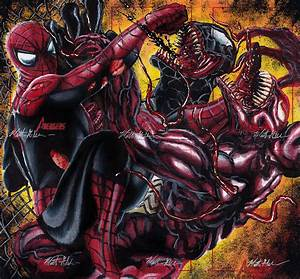 Spider-Man, Venom and Carnage by twynsunz-d4snsix ...