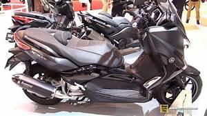 Accessoire Xmax 125 : 2016 yamaha xmax 125 iron max abs walkaround 2015 salon de la moto paris youtube ~ Melissatoandfro.com Idées de Décoration