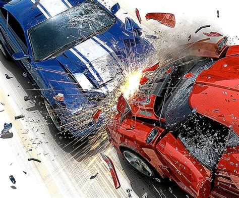 3d Crash Car Wallpapers Hd Desktop  Wallpaper Background