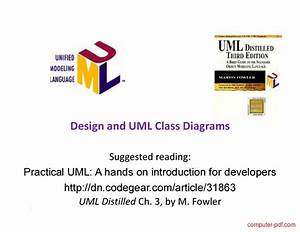 Pdf  Design And Uml Class Diagrams Free Tutorial For Beginners