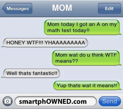 parents shouldnt text  awkward parent texts