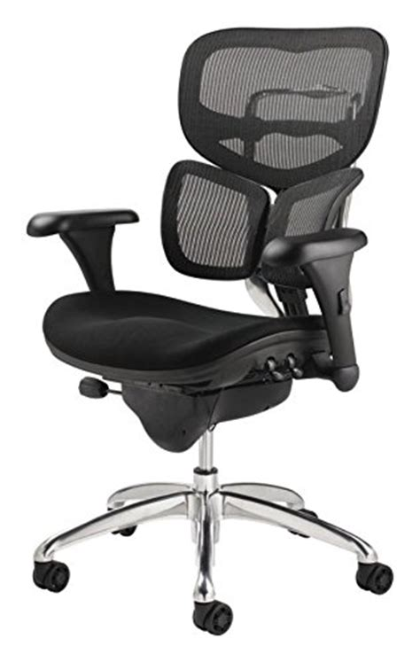 Workpro Commercial Mesh Back Executive Chair by Workpro Commercial Mesh Back Executive Chair Black