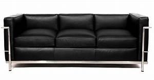 Le Corbusier Stil : le corbusier lc2 style sofa ~ Michelbontemps.com Haus und Dekorationen