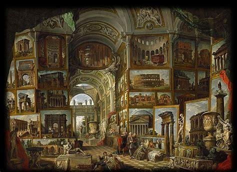 paolo pannini galeries de vues de la rome antique