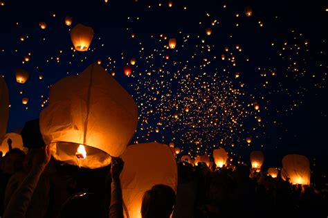 lanterns in the sky lanterns in the sky by fishek84 on deviantart