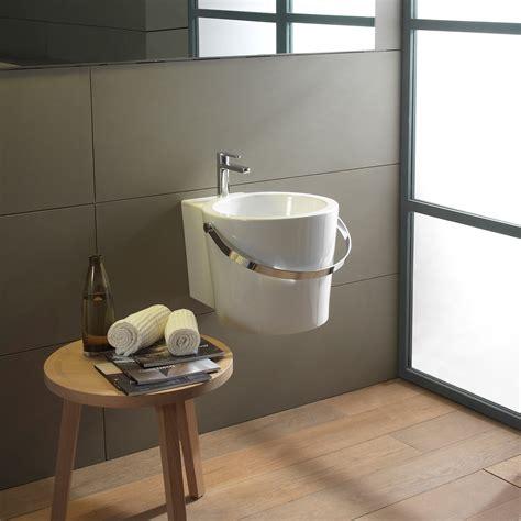 scarabeo bucket  wall mounted washbasin tattahome