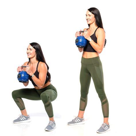 squat goblet exercises woman exercise workout sexy thighs plan ejercicios desean estos mujeres mejores son tonificar piernas sus doing