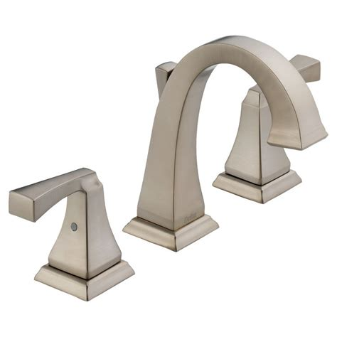 delta 3551lf ss dryden two handle widespread bathroom