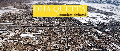 dha quetta controlled area defined  boundaries