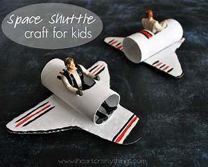 A Happy Homemade Space Shuttle Craft   I Heart Crafty Things
