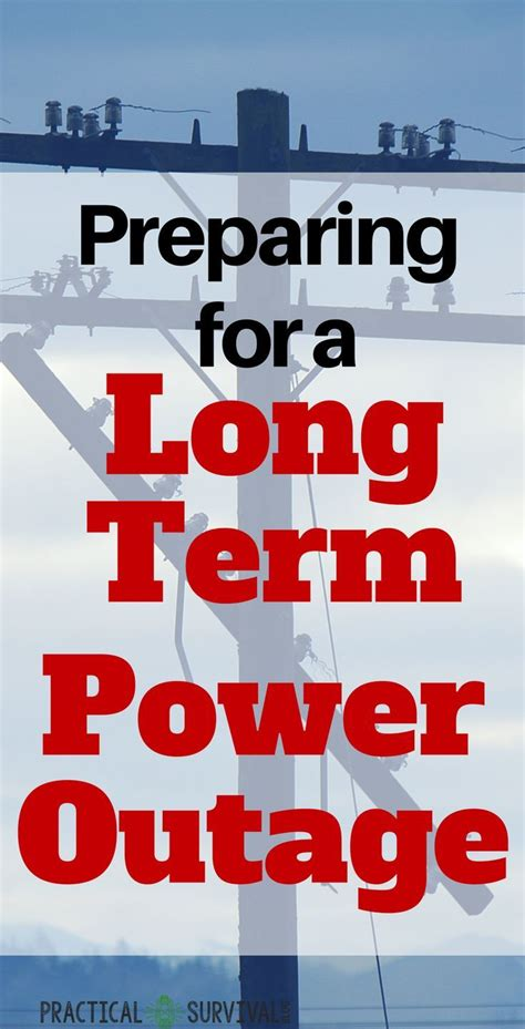preparing   long term power outage apocolypse