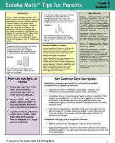 Grade 3 Module 1 Topic A Parent Newsletter Developed By 1000 Images About Grade 8 Eureka Math On