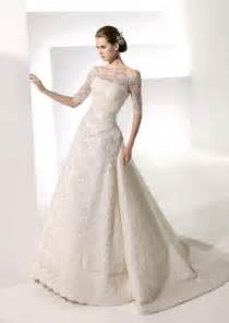 lace wedding gowns with sleeves fashion lace wedding dresses with sleeves images