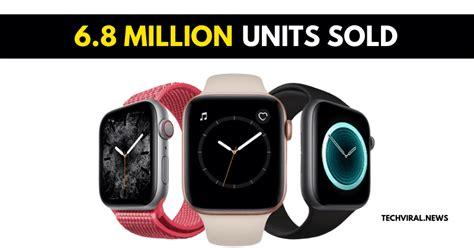 apple shipped  million smartwatches