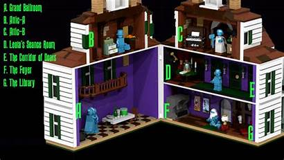Haunted Mansion Lego Disney Walt Attic Presents