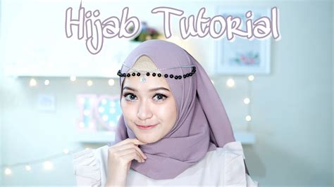 simple hijab tutorial pashmina  style  scarf saritiw